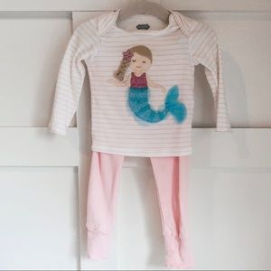Mud Pie Mermaid Outift